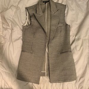 Theory blazer vest unlined 4 tailored, fitted